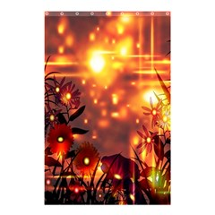 Summer Evening Shower Curtain 48  X 72  (small)  by Nexatart