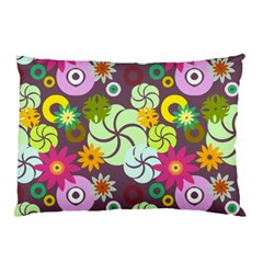 Floral Seamless Pattern Vector Pillow Case (two Sides) by Nexatart
