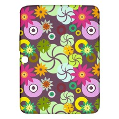 Floral Seamless Pattern Vector Samsung Galaxy Tab 3 (10 1 ) P5200 Hardshell Case  by Nexatart