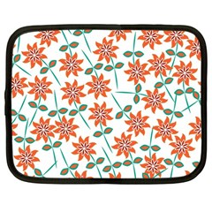 Floral Seamless Pattern Vector Netbook Case (large) by Nexatart