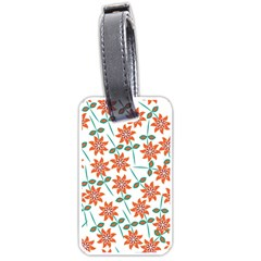 Floral Seamless Pattern Vector Luggage Tags (one Side)  by Nexatart