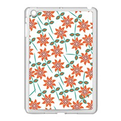 Floral Seamless Pattern Vector Apple Ipad Mini Case (white) by Nexatart