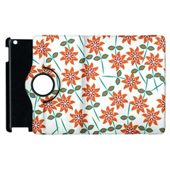 Floral Seamless Pattern Vector Apple Ipad 3/4 Flip 360 Case