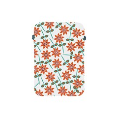 Floral Seamless Pattern Vector Apple Ipad Mini Protective Soft Cases by Nexatart