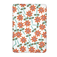 Floral Seamless Pattern Vector Samsung Galaxy Tab 2 (10 1 ) P5100 Hardshell Case