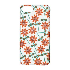 Floral Seamless Pattern Vector Apple Iphone 7 Hardshell Case