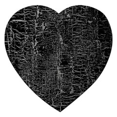 Old Black Background Jigsaw Puzzle (heart) by Nexatart