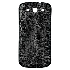 Old Black Background Samsung Galaxy S3 S Iii Classic Hardshell Back Case by Nexatart