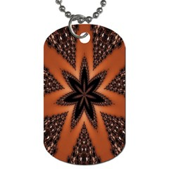 Digital Kaleidoskop Computer Graphic Dog Tag (two Sides) by Nexatart
