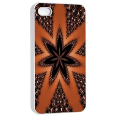 Digital Kaleidoskop Computer Graphic Apple Iphone 4/4s Seamless Case (white)