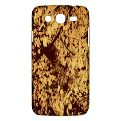 Abstract Brachiate Structure Yellow And Black Dendritic Pattern Samsung Galaxy Mega 5 8 I9152 Hardshell Case  by Nexatart