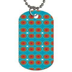 Floral Seamless Pattern Vector Dog Tag (one Side) by Nexatart