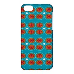 Floral Seamless Pattern Vector Apple Iphone 5c Hardshell Case by Nexatart