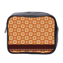 Floral Seamless Pattern Vector Mini Toiletries Bag 2 Side by Nexatart