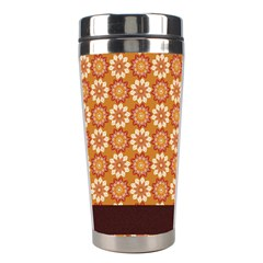 Floral Seamless Pattern Vector Stainless Steel Travel Tumblers by Nexatart