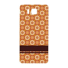 Floral Seamless Pattern Vector Samsung Galaxy Alpha Hardshell Back Case by Nexatart