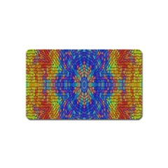 A Creative Colorful Backgroun Magnet (name Card) by Nexatart