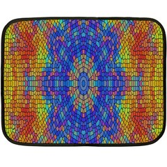 A Creative Colorful Backgroun Double Sided Fleece Blanket (mini)