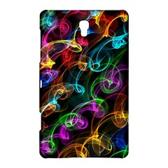 Rainbow Ribbon Swirls Digitally Created Colourful Samsung Galaxy Tab S (8 4 ) Hardshell Case