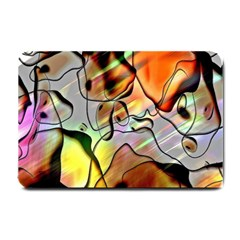 Abstract Pattern Texture Small Doormat  by Nexatart