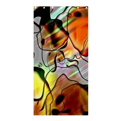 Abstract Pattern Texture Shower Curtain 36  X 72  (stall)  by Nexatart