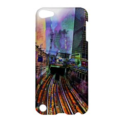 Downtown Chicago City Apple Ipod Touch 5 Hardshell Case by Nexatart