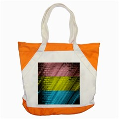 Brickwall Accent Tote Bag by Nexatart
