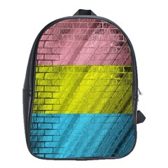 Brickwall School Bags(large)  by Nexatart