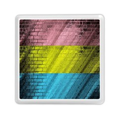 Brickwall Memory Card Reader (square)  by Nexatart