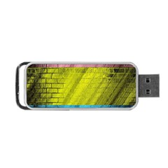Brickwall Portable Usb Flash (two Sides) by Nexatart