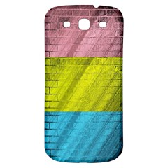 Brickwall Samsung Galaxy S3 S Iii Classic Hardshell Back Case by Nexatart