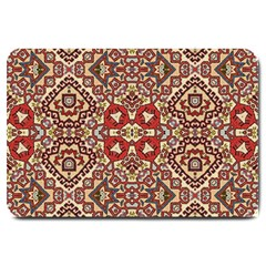 Seamless Pattern Based On Turkish Carpet Pattern Large Doormat  by Nexatart