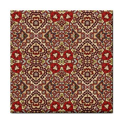 Seamless Pattern Based On Turkish Carpet Pattern Face Towel by Nexatart