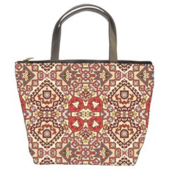 Seamless Pattern Based On Turkish Carpet Pattern Bucket Bags by Nexatart