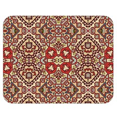 Seamless Pattern Based On Turkish Carpet Pattern Double Sided Flano Blanket (medium)  by Nexatart