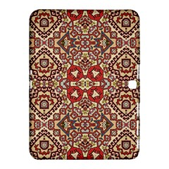 Seamless Pattern Based On Turkish Carpet Pattern Samsung Galaxy Tab 4 (10 1 ) Hardshell Case  by Nexatart