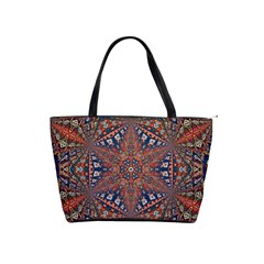 Armenian Carpet In Kaleidoscope Shoulder Handbags by Nexatart