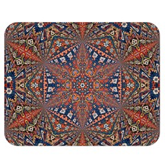 Armenian Carpet In Kaleidoscope Double Sided Flano Blanket (medium)
