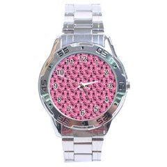 Cute Cats I Stainless Steel Analogue Watch by tarastyle