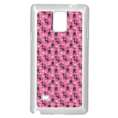 Cute Cats I Samsung Galaxy Note 4 Case (white)