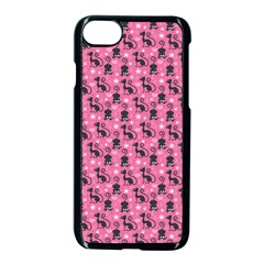 Cute Cats I Apple Iphone 7 Seamless Case (black)