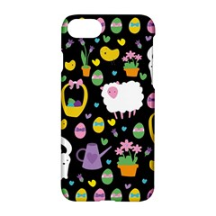 Cute Easter Pattern Apple Iphone 7 Hardshell Case