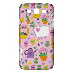 Cute Easter Pattern Samsung Galaxy Mega 5 8 I9152 Hardshell Case  by Valentinaart