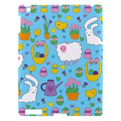Cute Easter Pattern Apple Ipad 3/4 Hardshell Case by Valentinaart