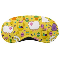 Cute Easter Pattern Sleeping Masks by Valentinaart