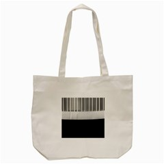 Piano Keys On The Black Background Tote Bag (cream)
