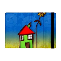Colorful Illustration Of A Doodle House Ipad Mini 2 Flip Cases by Nexatart