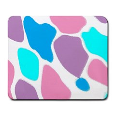 Baby Pink Girl Party Pattern Colorful Background Art Digital Large Mousepads by Nexatart