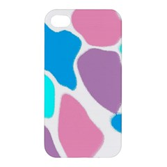 Baby Pink Girl Party Pattern Colorful Background Art Digital Apple Iphone 4/4s Premium Hardshell Case