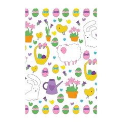 Cute Easter Pattern Shower Curtain 48  X 72  (small)  by Valentinaart